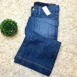 Banana Republic Classic Flare Leg Medium Wash Jean